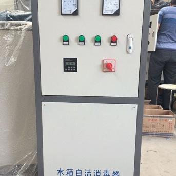 众旗水箱自洁消毒器安装项目